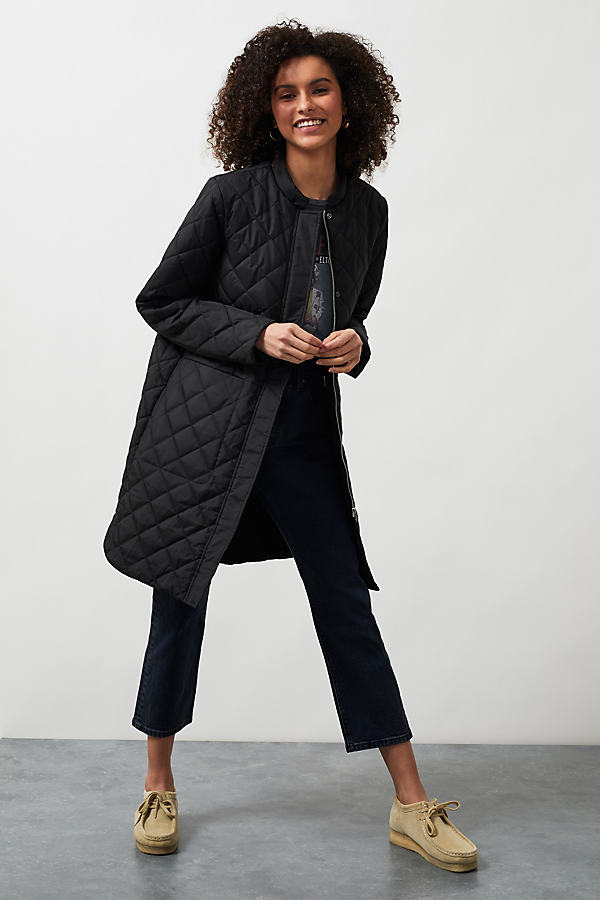 Selected Femme Fillipa Quilted Coat