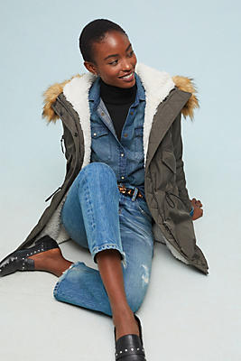 Slide View: 1: Canyon Parka Coat