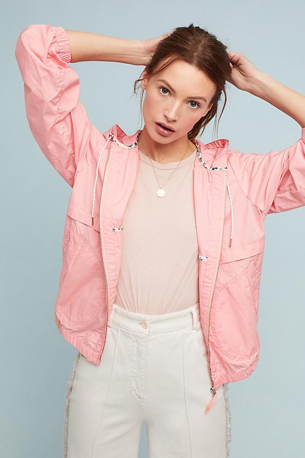 Sporty Anorak - Pink, Size L