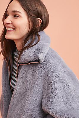 Bristol Faux Fur Jacket | Anthropologie