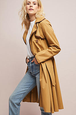 Slide View: 1: Marley Trench Coat