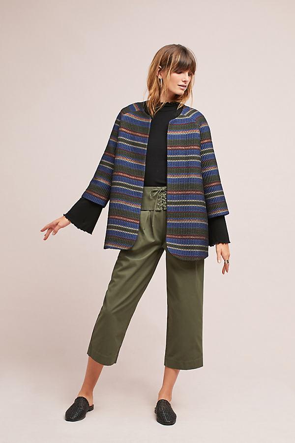 Tabitha Metallic Silk Jacket - A/s, Size Uk 6