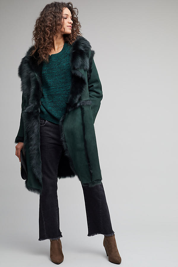 Porto Sheepskin Coat - Assorted, Size L