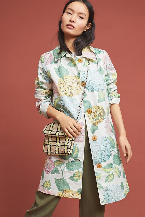 Mellie Hydrangea Raincoat - Assorted, Size L