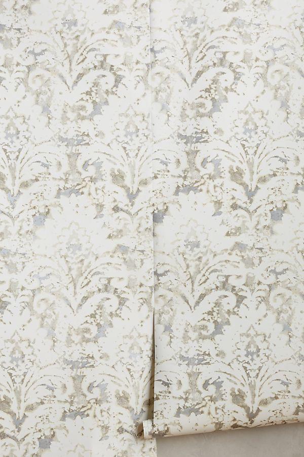 batik damask wallpaper anthropologie