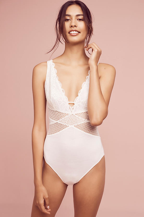 Slide View: 2: Floreat Dabney Laced Bodysuit
