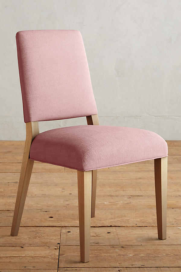 Slide View: 1: Linen Farwood Chair