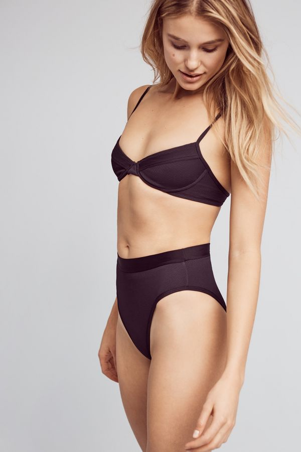 L Space L Space High-Waisted Swim Bottoms