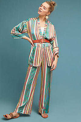 Slide View: 1: Trellis Reversible Kimono