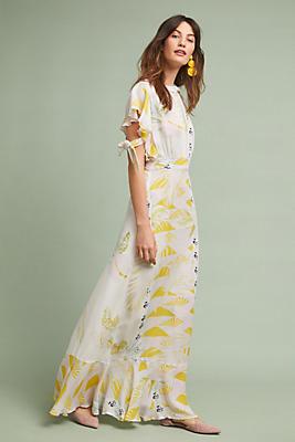 Slide View: 1: Cynthia Rowley Talia Silk Dress