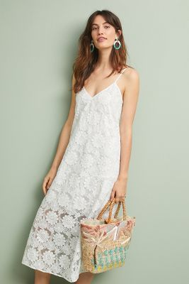 Cynthia Rowley Maya Lace Slip Dress by Cynthia Rowley