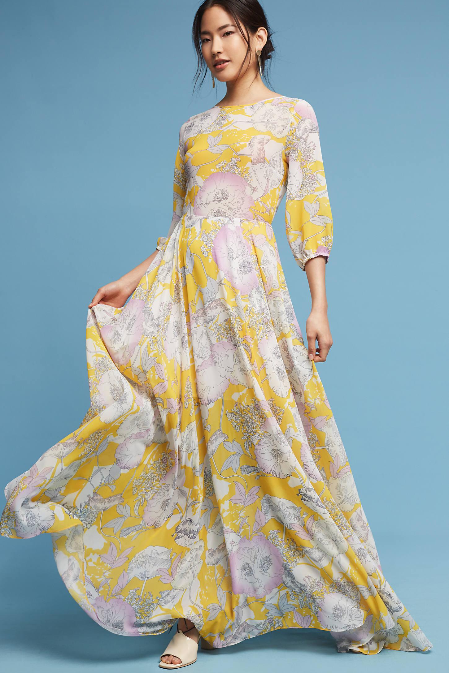 Charvi Floral Maxi Dress