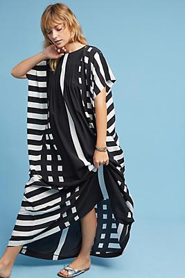 Slide View: 2: Tenerife Silk Maxi Dress