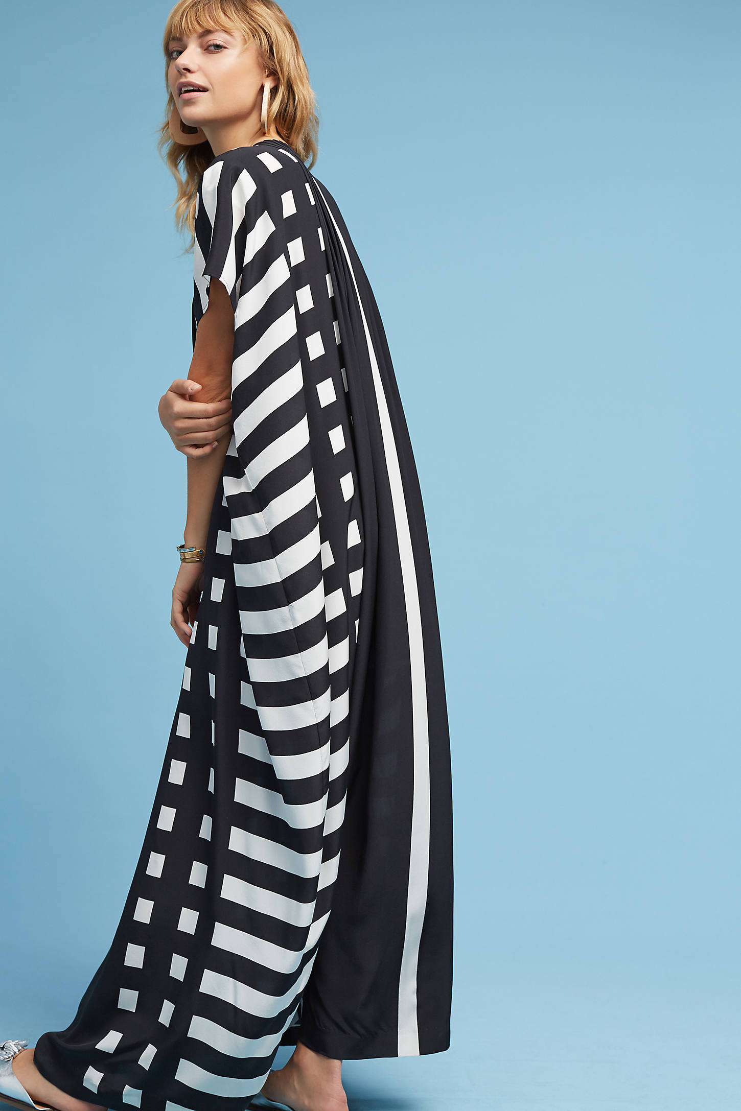 Tenerife Silk Maxi Dress