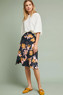 Slide View: 1: Oktava Wrap Skirt