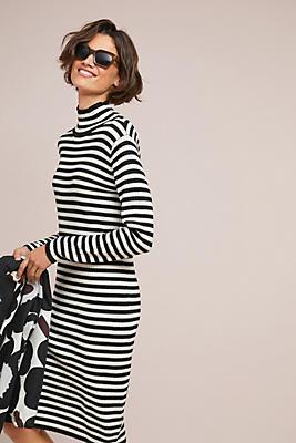 Slide View: 1: Angervo Wool Turtleneck Dress