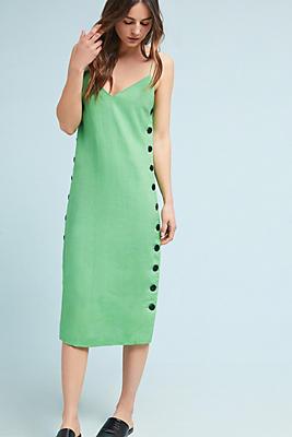 Slide View: 1: Mara Hoffman Heidi Linen Slip Dress