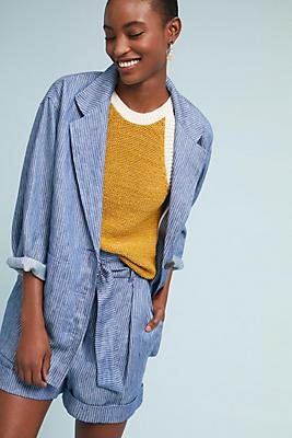 Slide View: 1: Mara Hoffman Fatima Linen Jacket