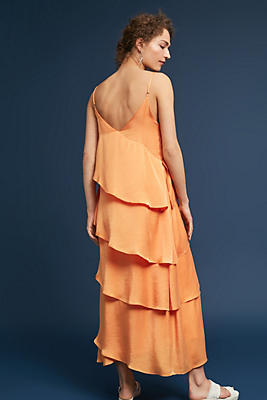 Slide View: 1: Mara Hoffman Salome Tiered Ruffle Dress