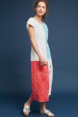 Slide View: 1: Mara Hoffman Barbara Colorblocked Dress