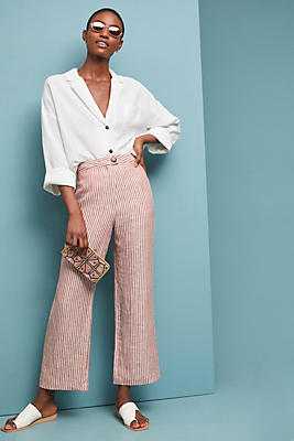 Slide View: 1: Mara Hoffman Linen Trousers