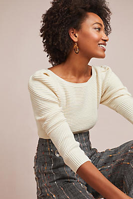 Slide View: 1: Mara Hoffman Helena Ribbed Sweater