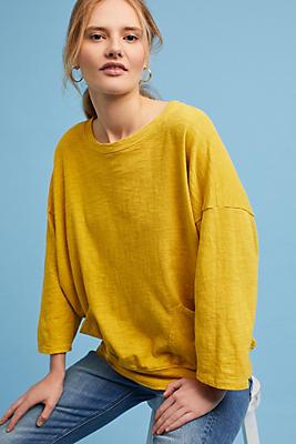 Slide View: 1: Pocketed Sweatshirt