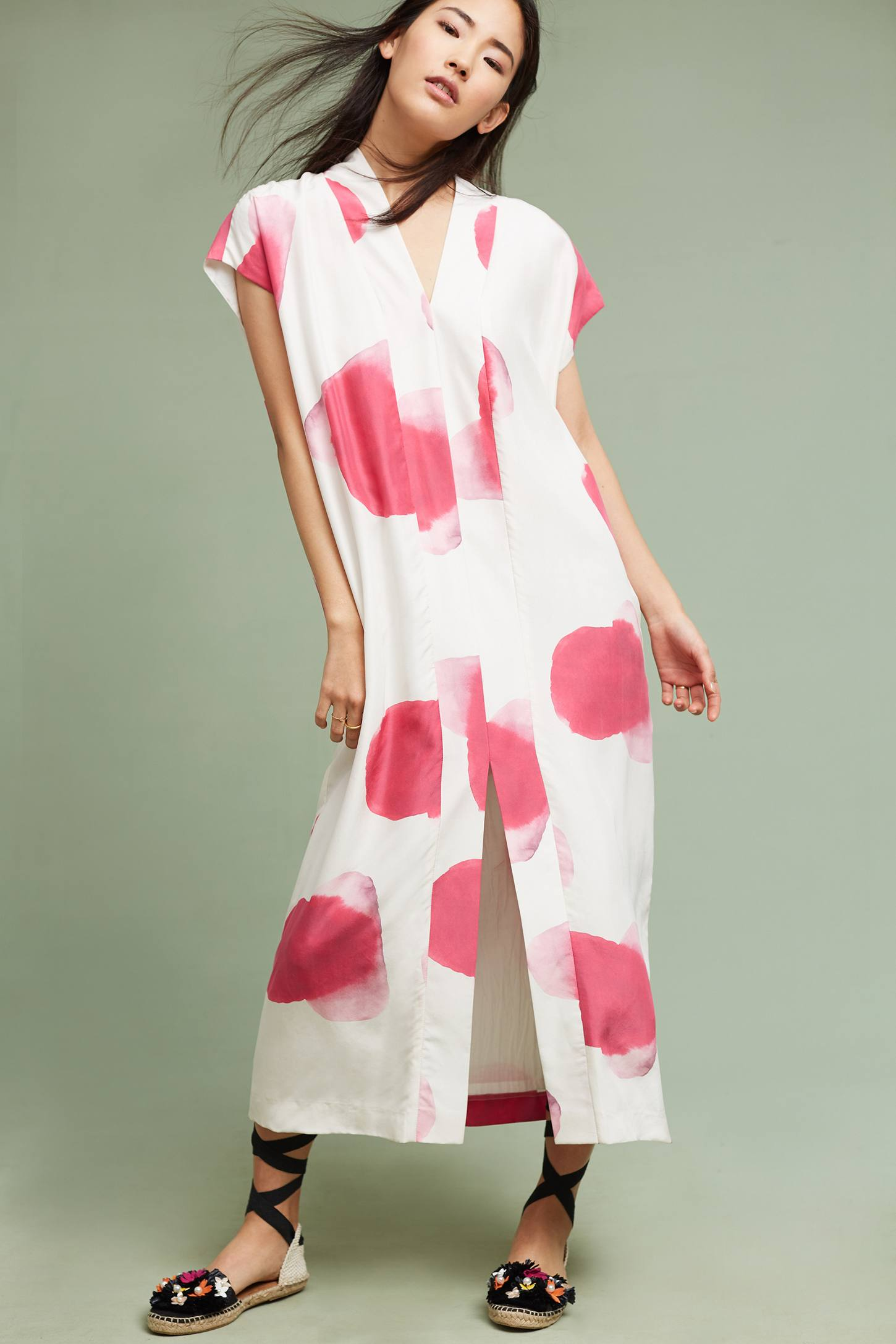 Slide View: 1: Sunspot Silk Dress