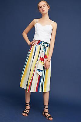 Slide View: 4: Kimani Silk Skirt