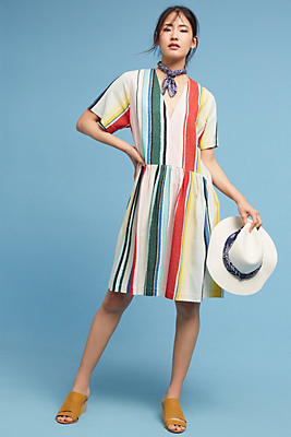 Slide View: 1: Catalina Silk Dress