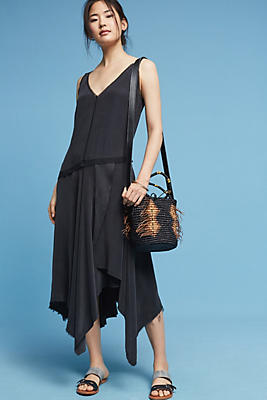 Slide View: 1: Mathilde Silk Dress