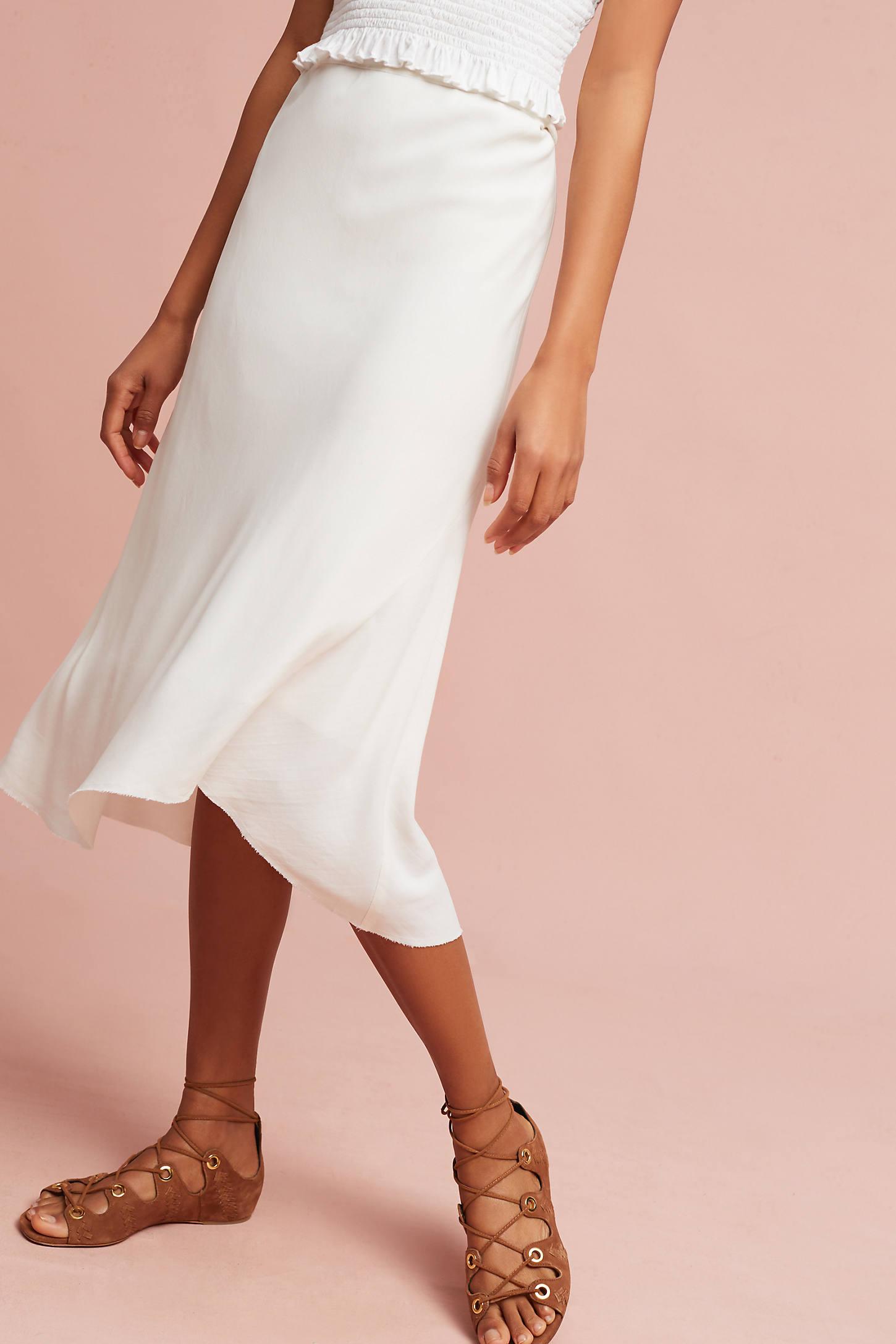 Mia Silk Skirt