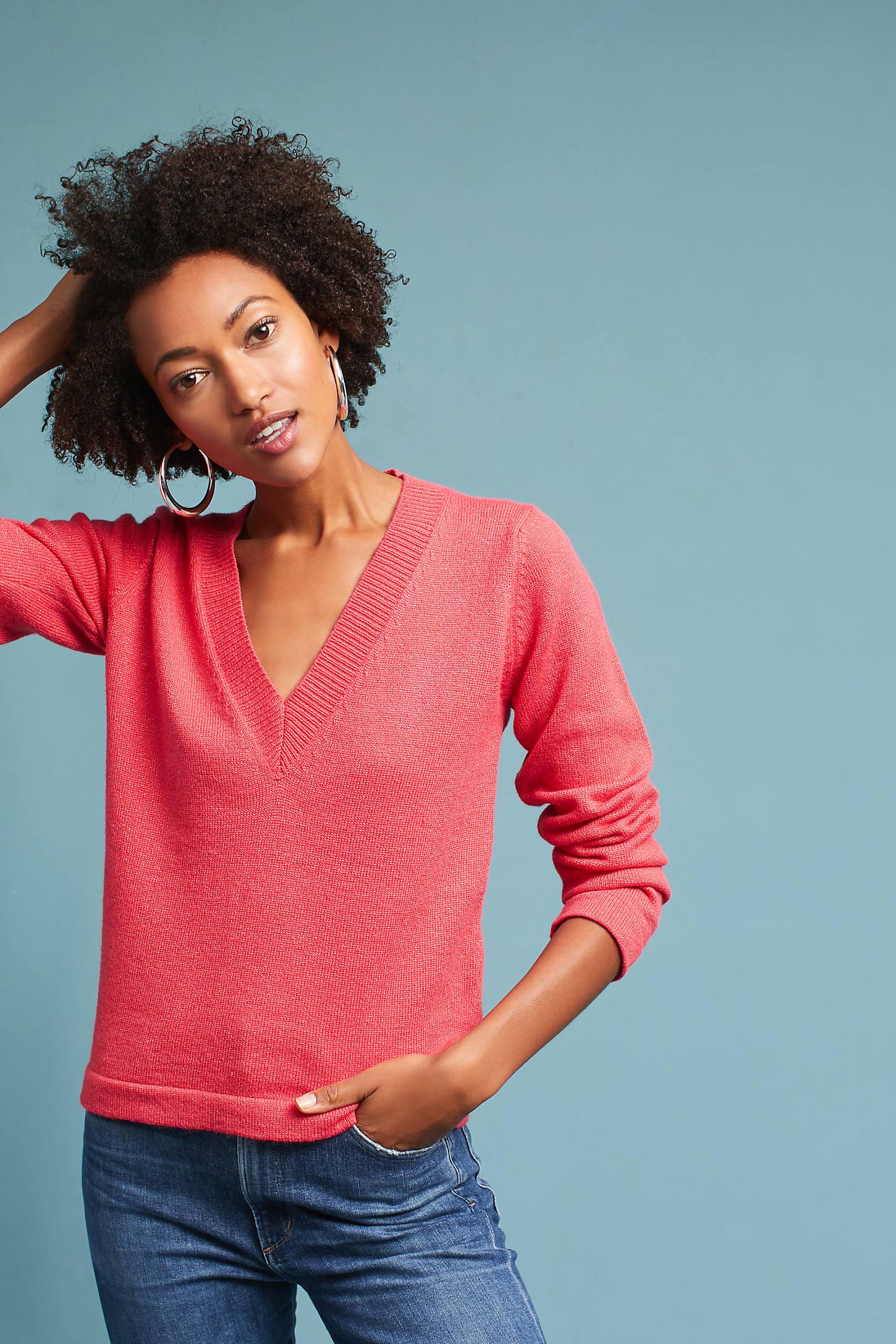 Jojo Deep-V Pullover