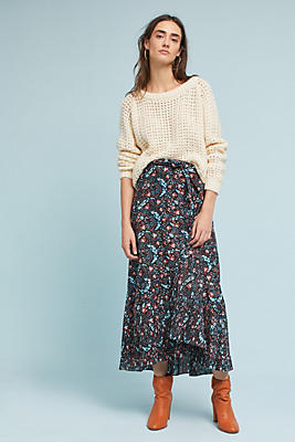 Slide View: 1: Toulon Wrap Skirt