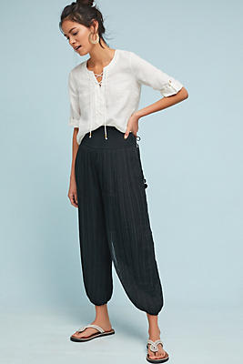 Slide View: 1: Austen Pleated Joggers