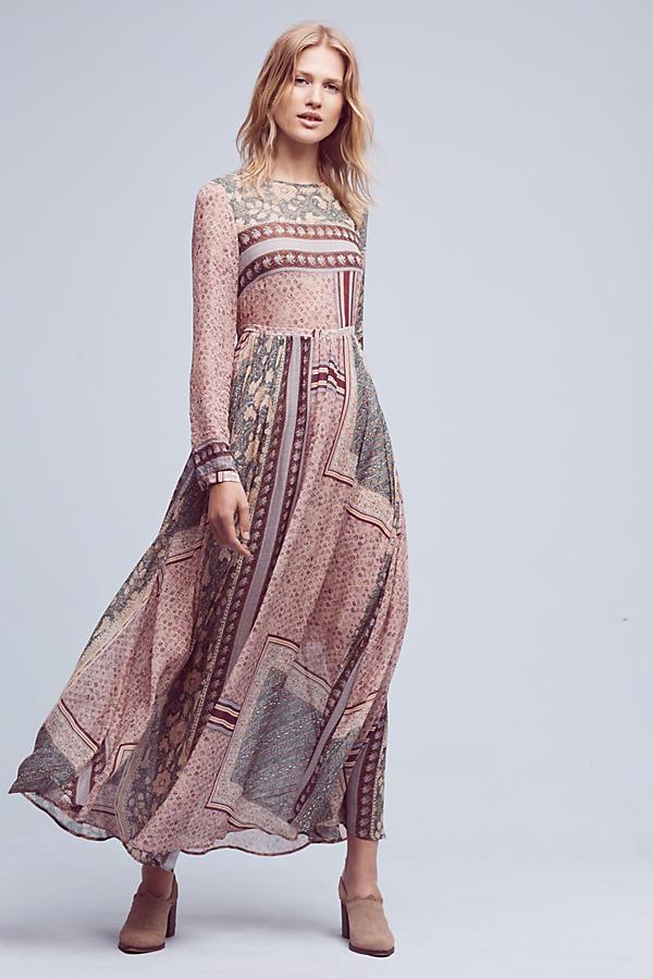 Cavina Maxi Dress Anthropologie