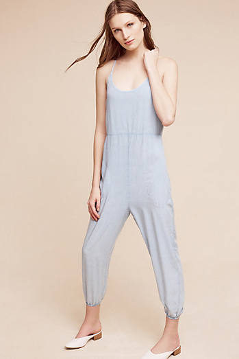 Idell Smocked Jumpsuit