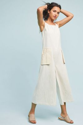 Wellfleet Wide-Leg Jumpsuit | Anthropologie