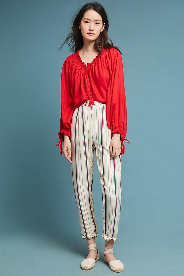 Slide View: 1: Antik Batik Striped Pants