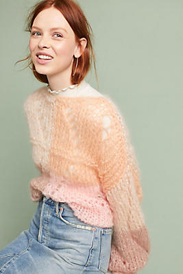 Slide View: 1: Hand-Knit Janis Pullover
