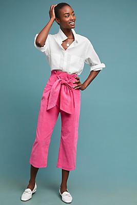 Slide View: 1: PAPER London Corduroy Twin Trousers