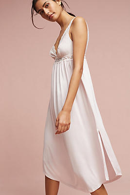 Slide View: 1: Eberjey Kiss The Bride Long Chemise