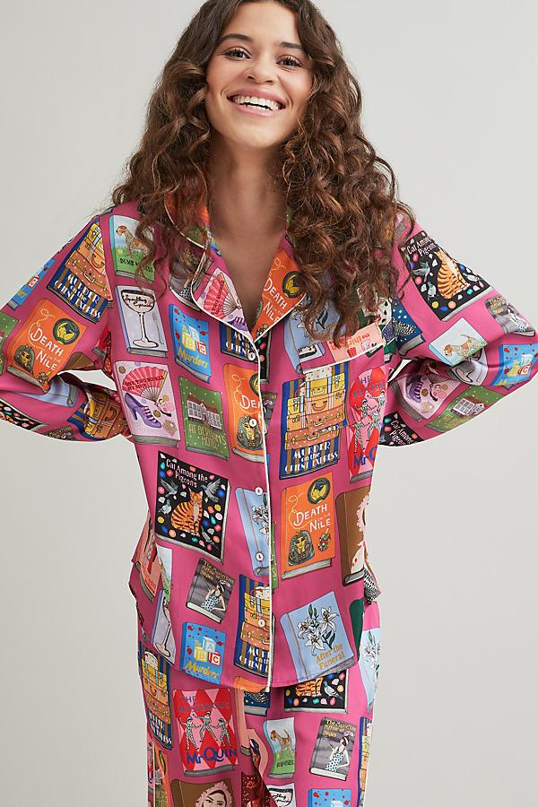 Karen Mabon Agatha Christie Pyjama Trousers Set