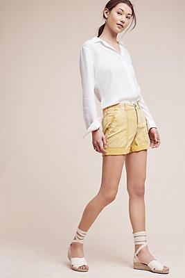 Slide View: 1: Wanderer Rolled-Hem Shorts