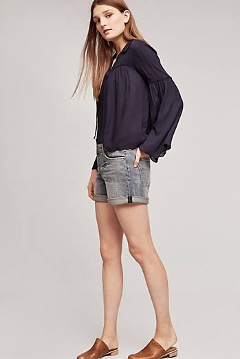 Pilcro Hyphen Mid-Rise Denim Short