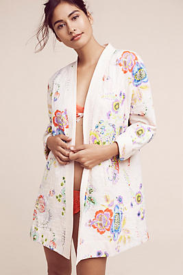Slide View: 1: Petulia Quilted Robe