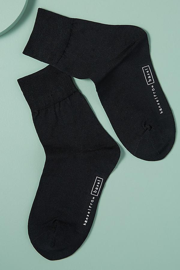 Hansel From Basel Ankle Socks - Black