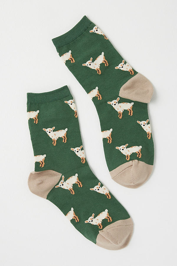 Ojai Sheep Ankle Socks