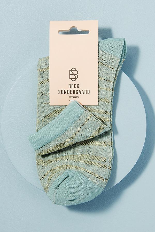 Chaussettes zébrées pailletées - Becksondergaard - Modalova