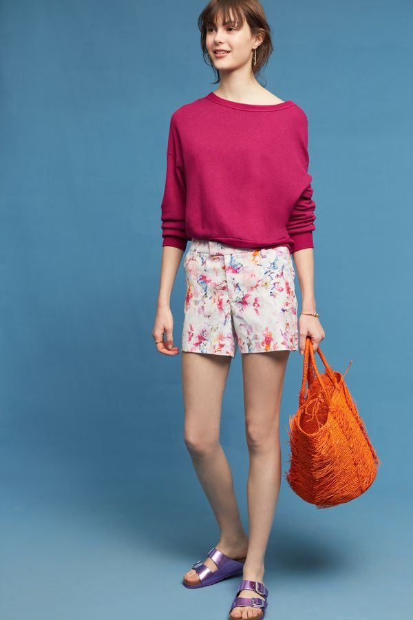 Level 99 Level 99 Casandra Floral Shorts
